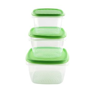 Picture of Meet 3pcs Plastic Container