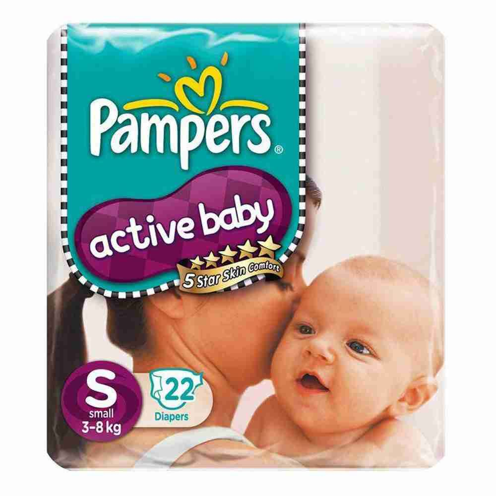 Picture of Pamper Active Baby Medium 22pads