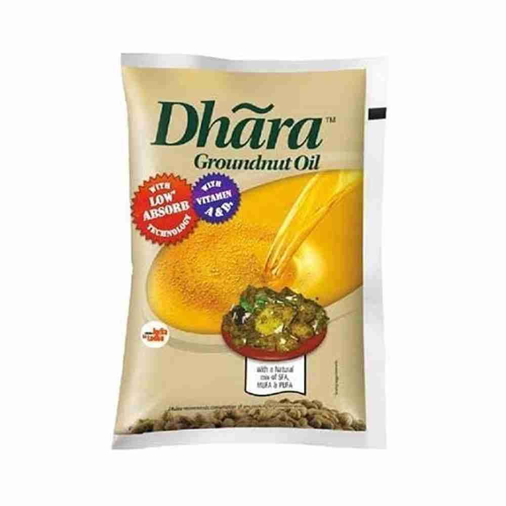 Picture of Dhara Groundnut Oil 1Ltr
