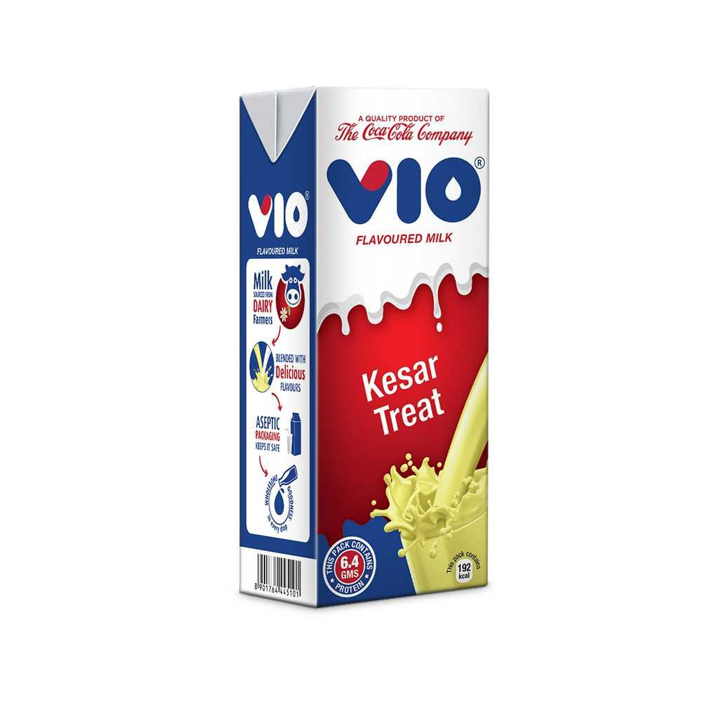 Picture of Coca -Cola Vio Milk Kesar Treat