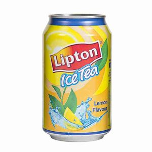 Picture of Lipton Ice Tea Lemon 330ml Can