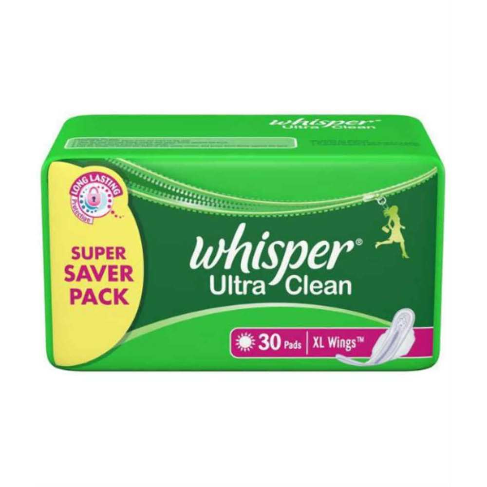 Picture of Whisper Ultra Clean L Wings 30 Pads