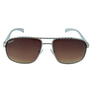 Picture of Polo House USA Men's Sunglasses Silver Brown(RoyAlu5006silbrown)