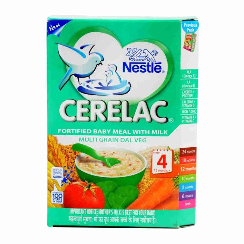 Picture of Nestle Cerelac Multigrain Dal Veg 350gm Stage - 4