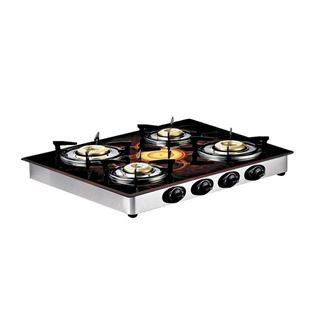 Picture of Butterfly Gas Stove Top-Flora 4 Burner Glass L3560E00000