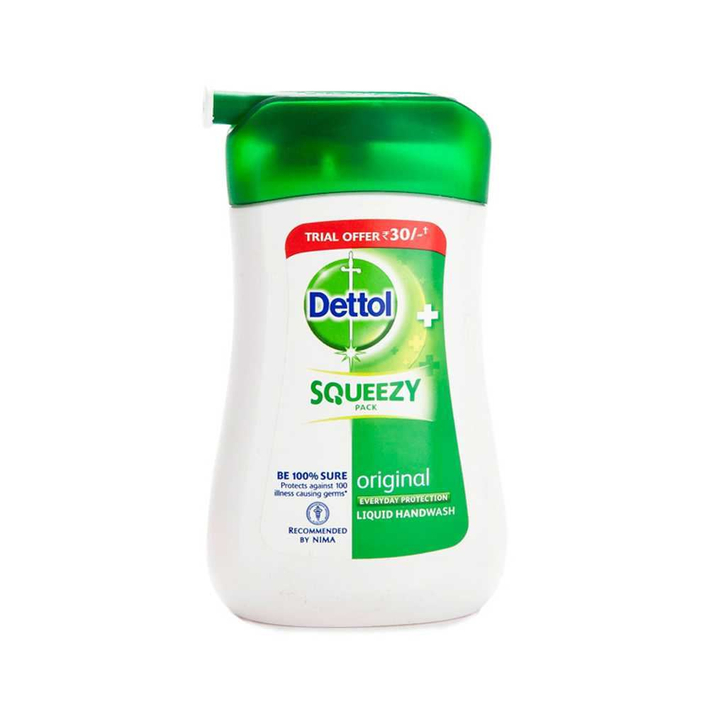 Picture of Dettol Squeezy Liquid Hand Wash 110ml