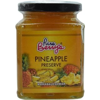 Picture of Pure Berrys Pineapple Preserve 350gm
