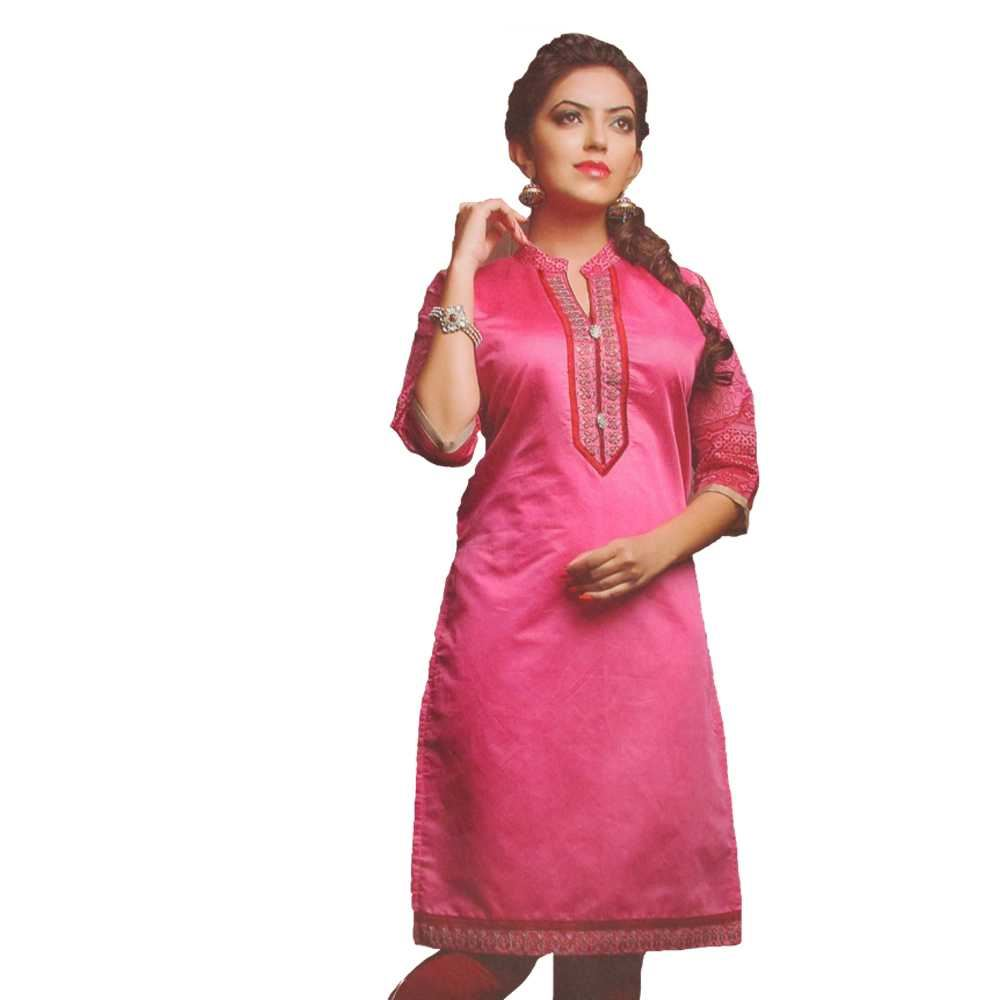 Picture of Vala's Silver Gold Kurti D.No.3606