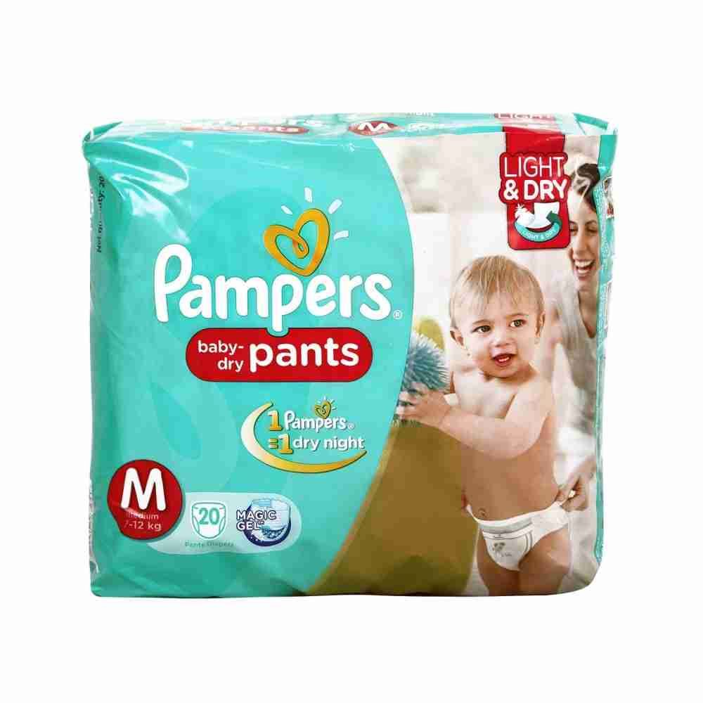 Picture of Pamper Medium 7-12Kg 20pants