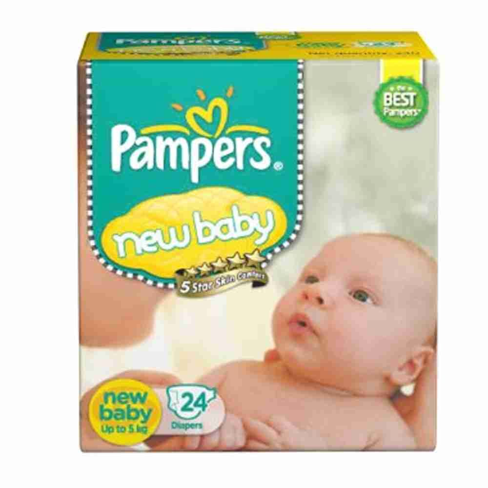 Picture of Pamper New Born 24 Pcs