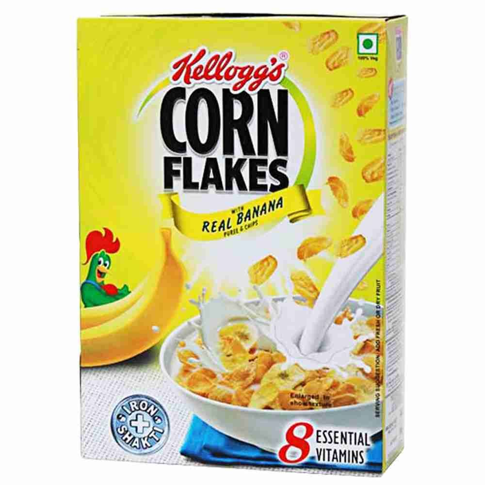 Picture of Kelloggs Real Banana Puree n Chips 300gm