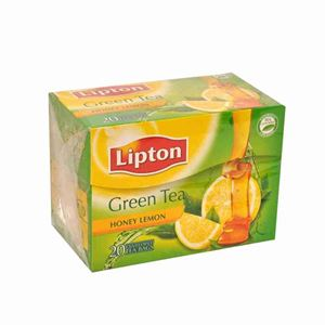 Picture of Lipton Green Tea Honey Lemon 25 Sachet
