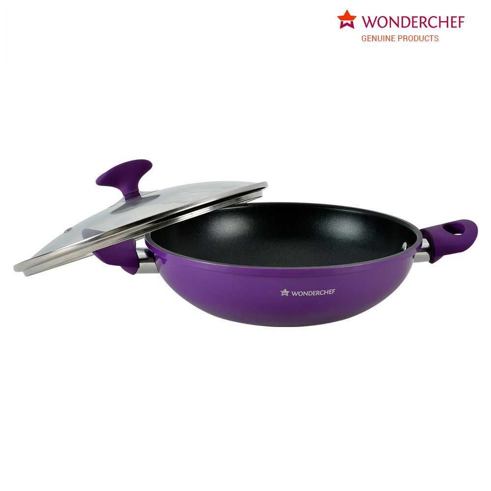 Picture of Wonderchef Elite Kadai With Lid 20cm