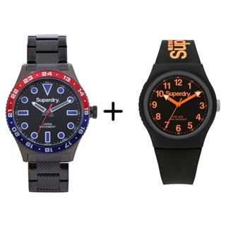 Picture of Combo Offer: Superdry Men Retro Sport Watch SYG143BM + Superdry Analog Unisex Watch SYG164B