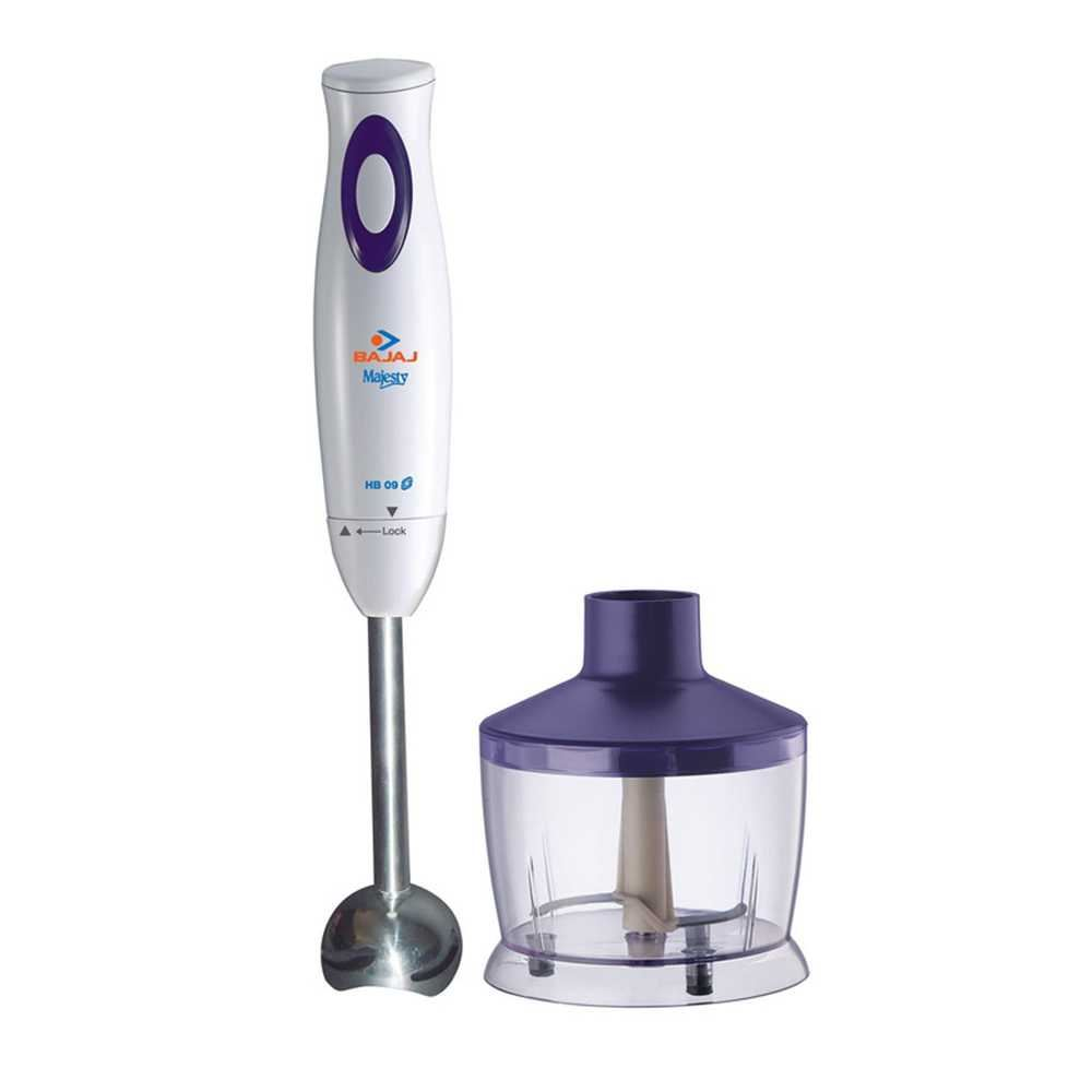 Picture of Bajaj Majesty HB05 Hand Blender With Stainless Steel Stick