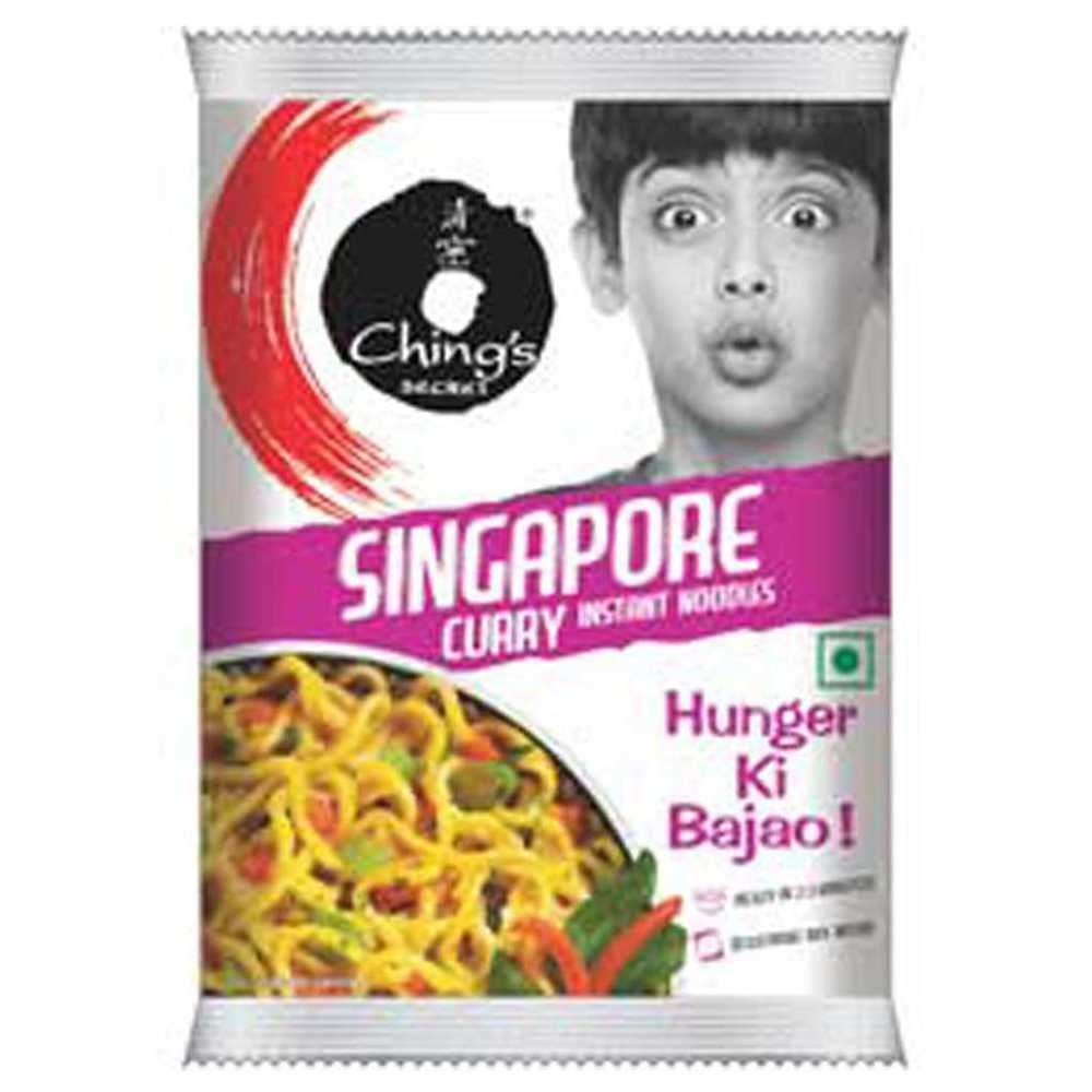 Picture of Ching's Singapore Curry Instant Noodles 60gm