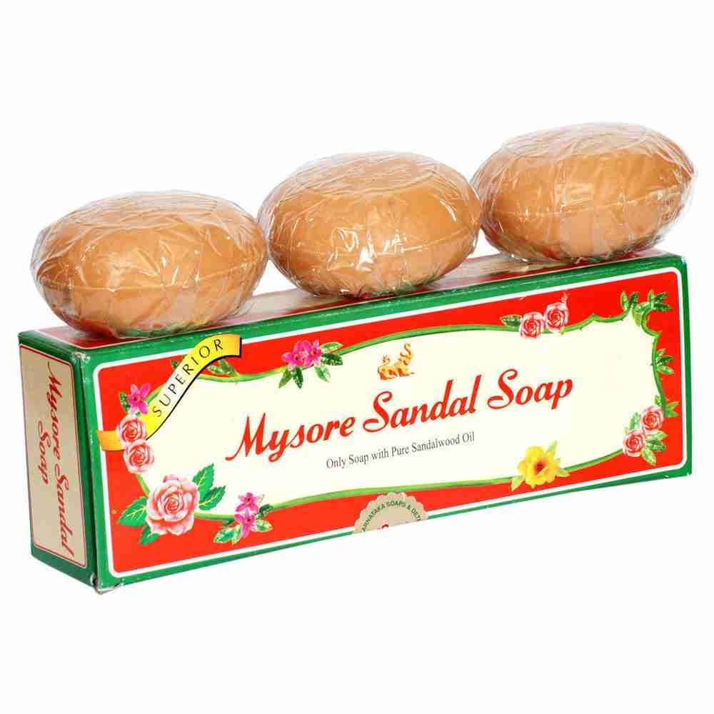 Picture of Mysore Sandal Soap Set 3x150gm