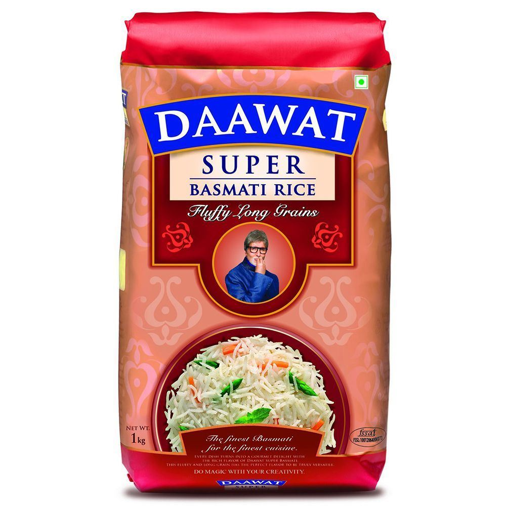 Picture of Daawat Rice Super 1 Kg New