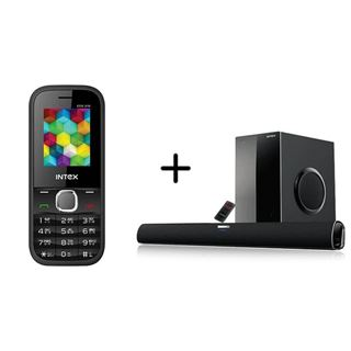 Picture of Combo Offer: Intex ECO 210 Mobile + Intex Sound Tower Speaker IT SB marvel 255Btu Wl-Woofer
