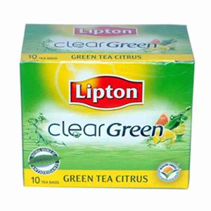 Picture of Lipton Clear Green Tea Citrus (10 Bags)