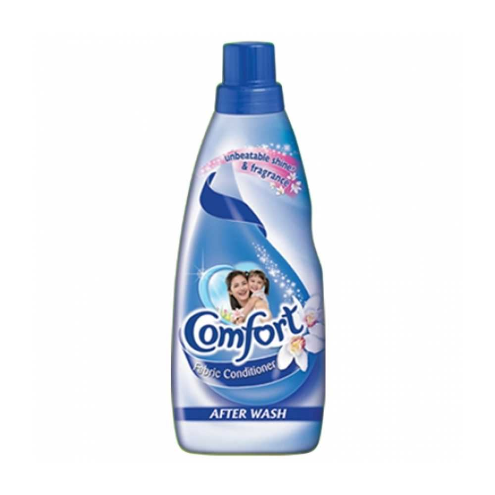 Picture of Comfort Fabric Conditioner After Wash Blue Liquid 800ml