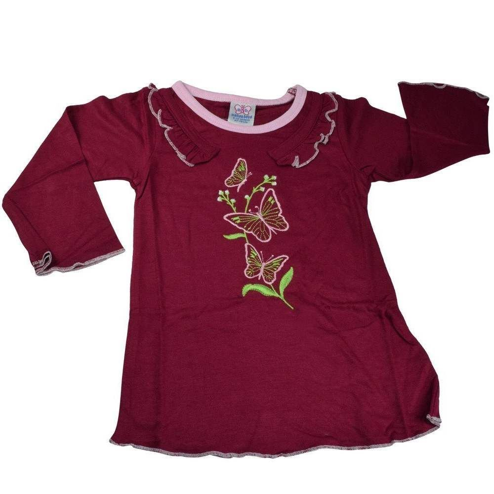 Picture of Mama & Bebes Infant Wear Girls Full Sleeves Top Maroon