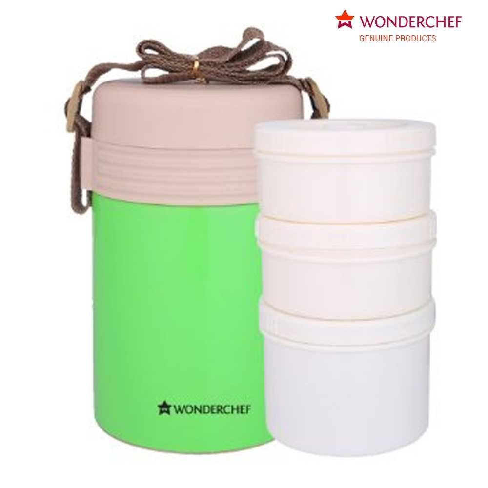 Picture of Wonderchef Magic Meal Lunch Box Green