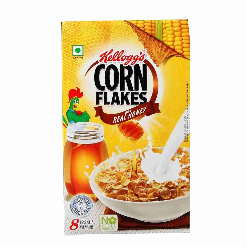 Picture of Kelloggs Corn Flakes Real Honey 630gm