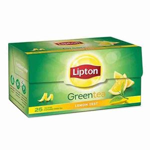 Picture of Lipton Green Tea Lemon Zest Tea Bags 25 Sachet