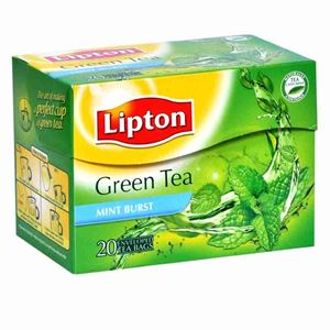 Picture of Lipton Clear Green Tea Mint (20 Bags)