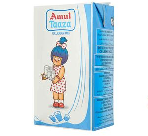 Picture of Amul Taaza Milk 1lit