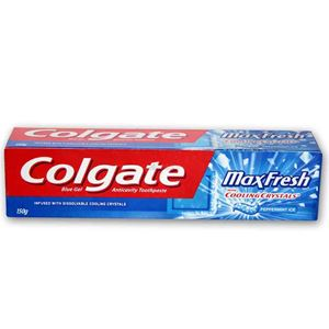 Picture of Colgate Max Fresh Blue Toothpaste 80gm
