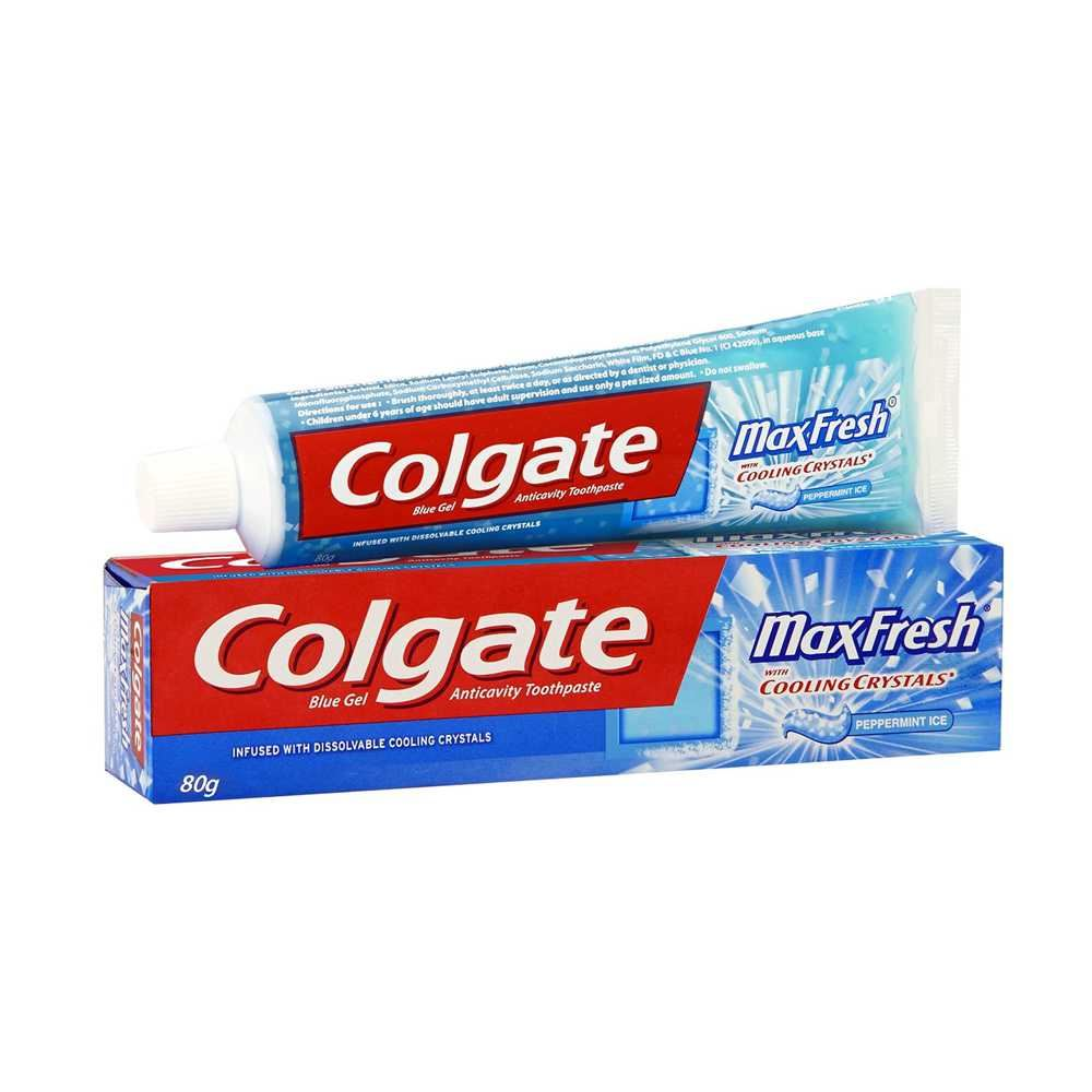 Picture of Colgate Max Fresh Cooling Crystals Blue Gel Toothpaste 80gm