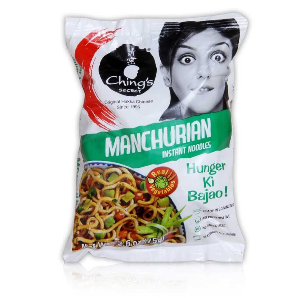 Picture of Ching's Manchurian Instant Noodles 60gm