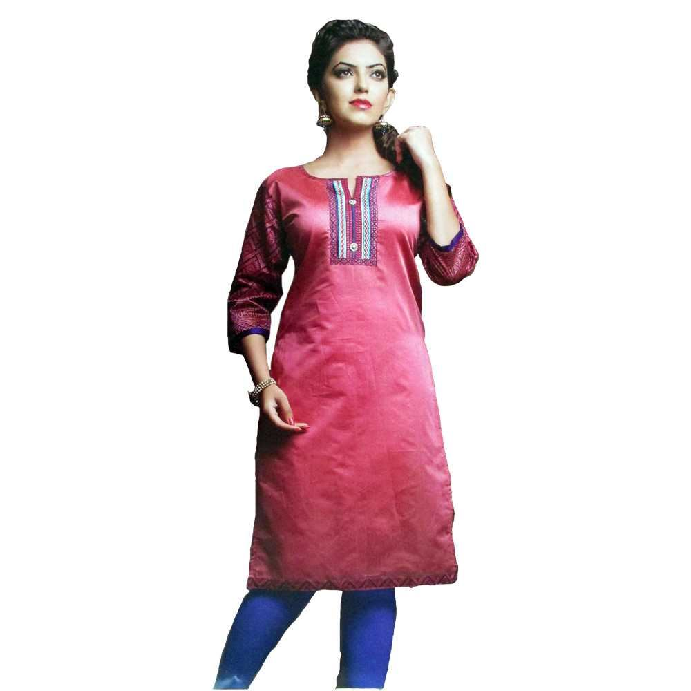 Picture of Vala's Silver Gold Kurti D.No.3604
