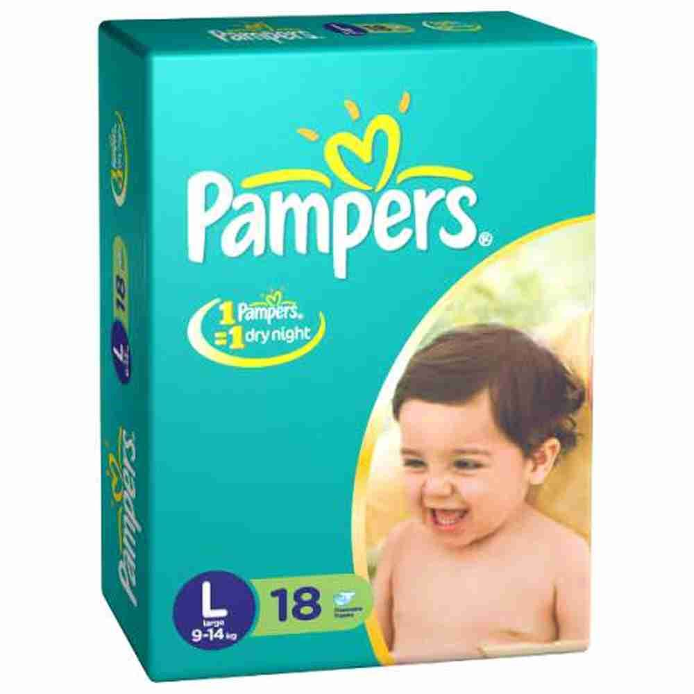 Picture of Pamper Large 9-14Kg 18d