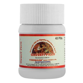 Picture of Dr. Vaidya's Gasvati Pills Relief from Gas Problems 48 pills