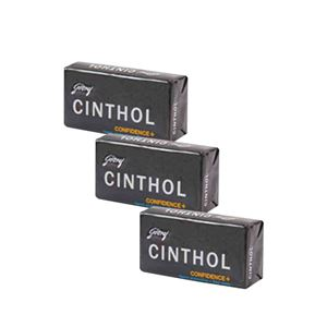 Picture of Cinthol Confidence Deo Soap Set 3x75gm