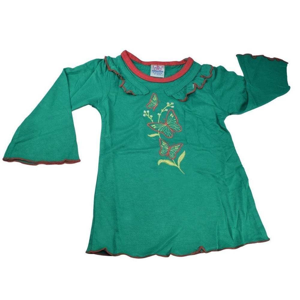 Picture of Mama & Bebes Infant Wear Girls Full Sleeves Top Green