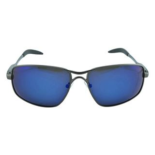 Picture of Polo House USA  Men's Sunglasses  Black Blue (AluSpoMer4blblue)