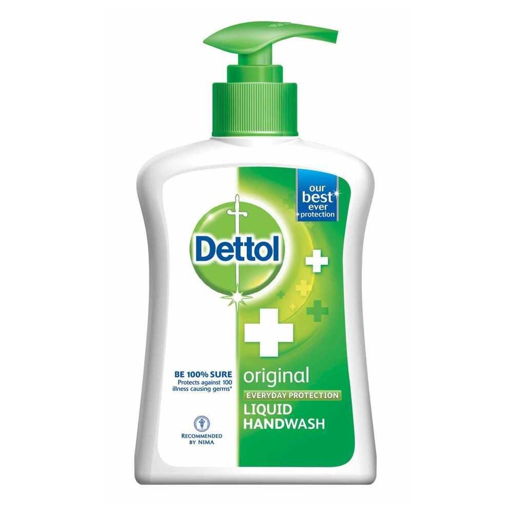 Picture of Dettol Original Hand Wash Pump 215ml