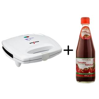 Picture of Patanjali Combo Offer: Kenstar Sandwich makers Brownies + Patanjali Tomato Ketchup 500gm