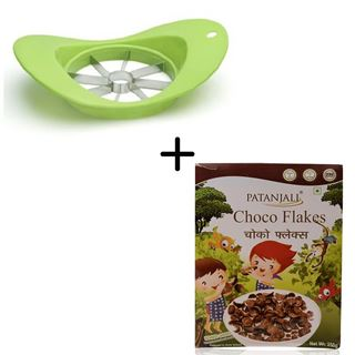 Picture of Patanjali Combo Offer: Anjali Apple Cutter Super + Patanjali Choco Flakes 250gm