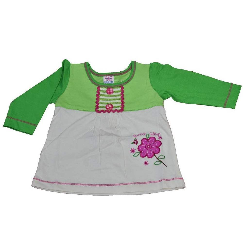 Picture of Mama & Bebes Infant Wear / Girls Full Seleeves Shirts Green