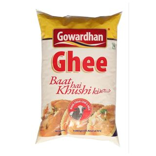 Picture of Gowardhan Ghee 1Ltr (Pouch)