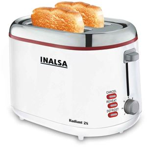 Picture of Inalsa  Pop up Toaster  Radiant 2s 850 w