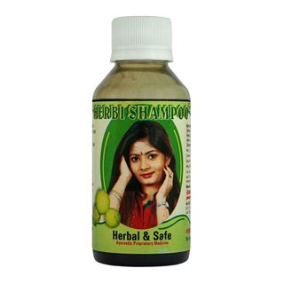 Picture of Dr. Vaidya's Herbi Shampoo Smoothening Hair & preventing Hair Fall 100 ml