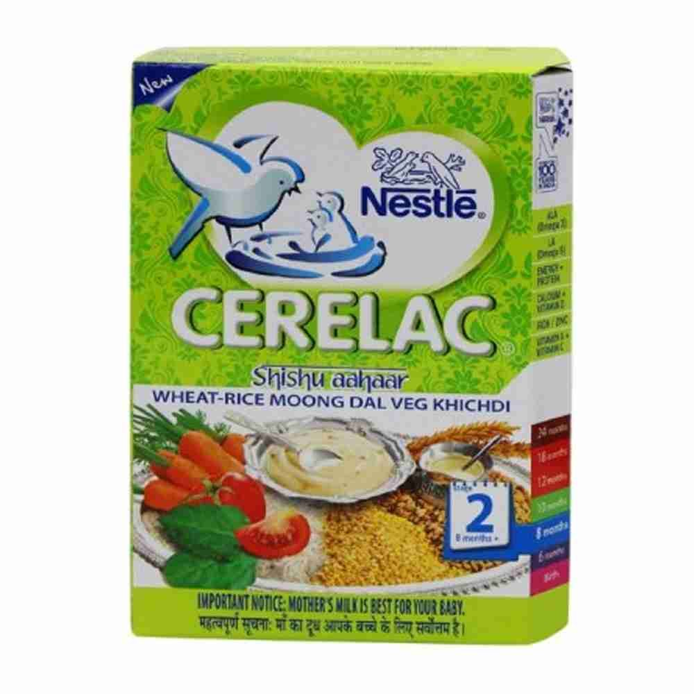 Picture of Nestle Cerelac Wheat Rice Moong Dal Khichdi 300gm