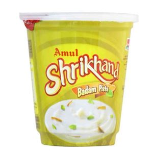 Picture of Amul Shrikhand Badam Pista 200gm