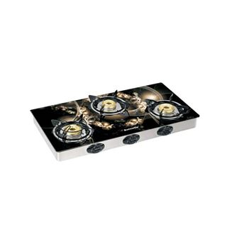 Picture of Butterfly Gas Stove Top-Garland  3 Burner Glass L3550F00000
